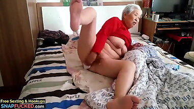 granny with boy