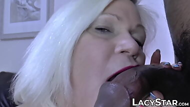 Cheating granny anally creampied by BBC lover