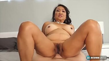granny asian mandy give a sex lesson at 70 years old