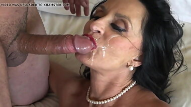 rita daniels mature slut cum face
