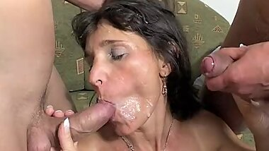 Mama Rewards Two BoysТ Hard Work With Hot DP Action!!