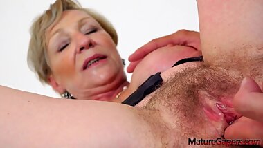 Busty Granny Sanny Will Make You Cum Guaranteed ! BigPussyLips (Episode 01)