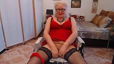 Webcam granny pussy show